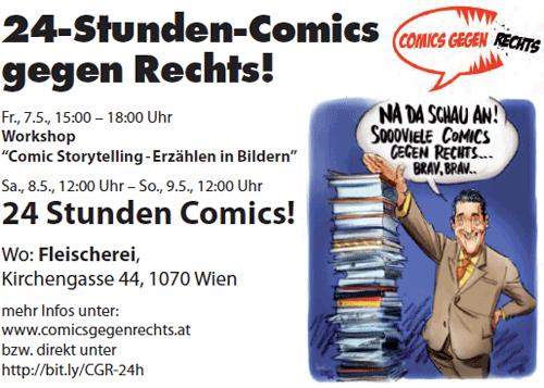 24h Comics Gegen Rechts